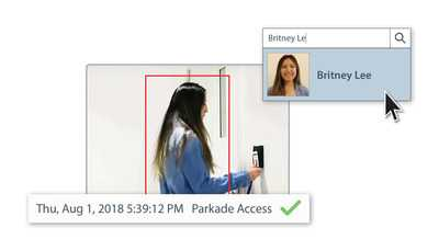 La technologie Appearance Search d'Avigilon integre le systeme Access Control Manager